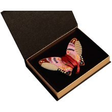 Comb Hair Wooden Comb Hand Painted Butterfly