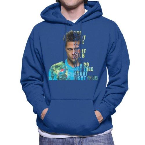 Fight Club Tyler Durden Half Head Men's Hooded Sweatshirt