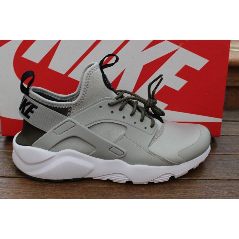 Mens Nike Air Huarache Run Ultra Shoes Triple Black 819685 001 SIZE 9.5