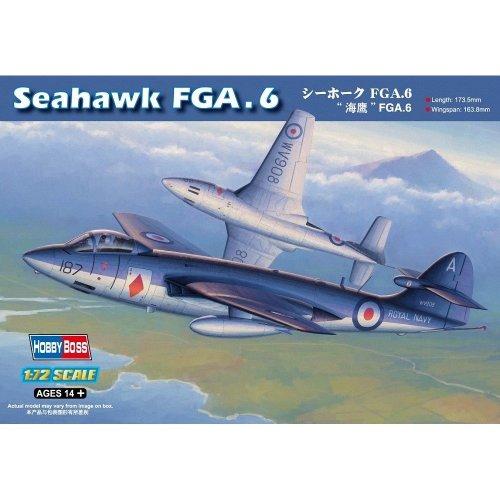 Hbb87251 - Hobbyboss 1:72 - Sea Hawk Fga 6