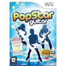 Pop Star Guitar Nintendo Wii Game