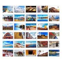 30PCS 1 Set Creative Postcards Artistic Beautiful Postcards, Tibet