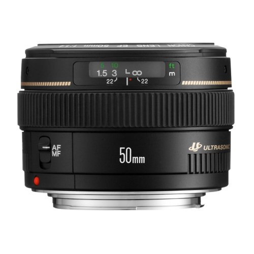 Canon EF 50mm f/1.4 USM SLR Black