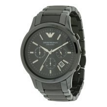 Emporio Armani Ceramica Chronograph Mens Watch AR1452