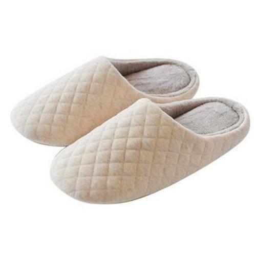 Japanese Ladies Winter Warm & Cozy  Indoor Shoes House Slipper, Beige