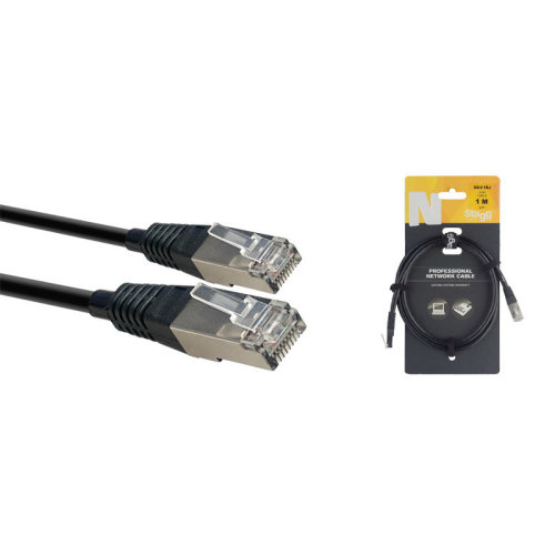 Stagg NCC1RJ 1m/3ft RJ45-CAT6 SFTP Cable