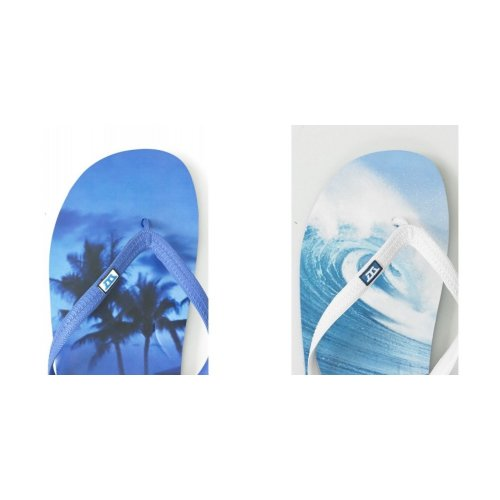 Duke Mens Maui Printed Flip Flops