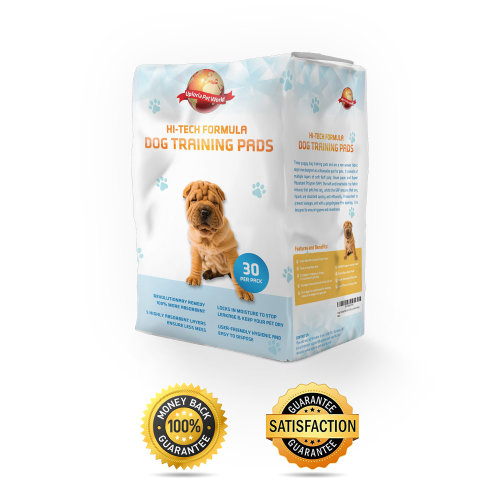 Puppy Training Pads 30-Pack|60cm x 60cm New Super Absorbent Size