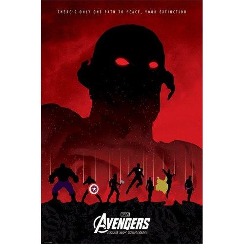 Maxi Poster Los Vengadores Era de Ultron Extincion