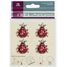Ladybird Charms By Artoz