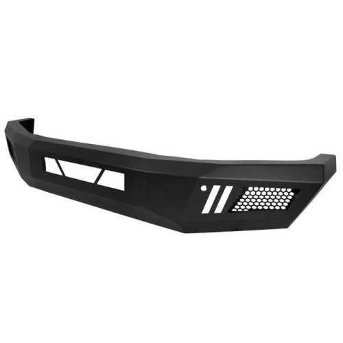 Spec D Tuning BBF-TUN14BK-A-WB LD Style Front Bumper for 2014-2018 Toyota Tundra - Black