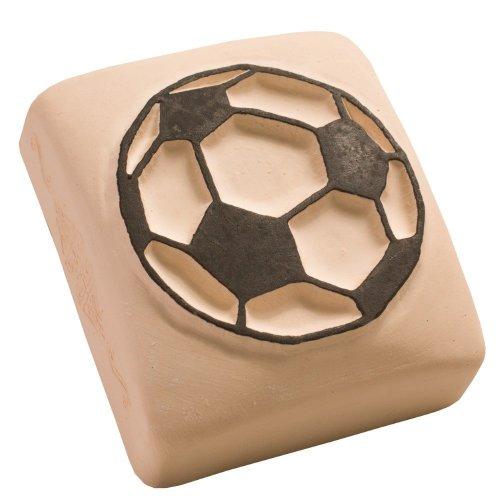 LaDot Temporary Tattoo Stamping Stone, Football