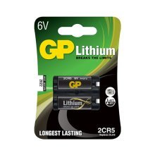 GP Batteries Lithium 2CR5 Lithium 6V non-rechargeable battery