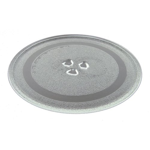 Sainsburys Microwave Turntable 245mm 9.5 Inches  3 Fixings Dishwasher Safe