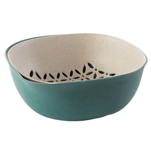 Creative Living Room Fruit-Plate Kitchen Vegetable Plate Drain Basket[B]