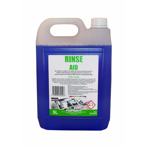 Rinse AID - 5Ltr - For Cabinet Dishwashers and Glass-washing machines