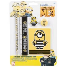 DESPICABLE ME 3 | 5 Piece Stationery Set