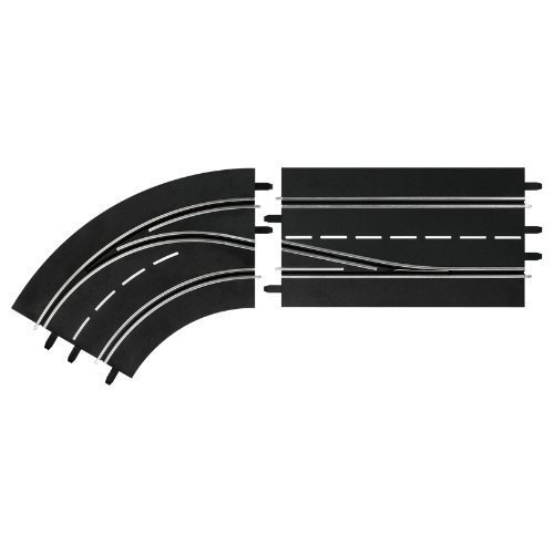 Lane change curve left, DIGITAL 132/124 Track Accessory - Carrera CA30362