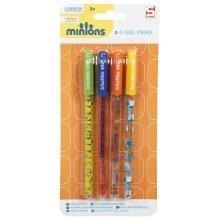 Minions Gel Pens - 4 Pack