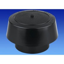 Wavin OSMA 110mm SOIL 4S310 Vent Cowl BLACK