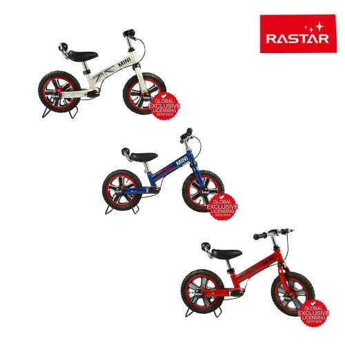 deAO Licensed BMW Mini Cooper Kids Balance Bike Design- Pedal Free