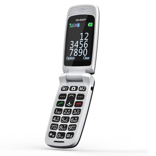 quad-band GSM Big Button Senior Unlocked SIM-Free Mobile Phone Black Color