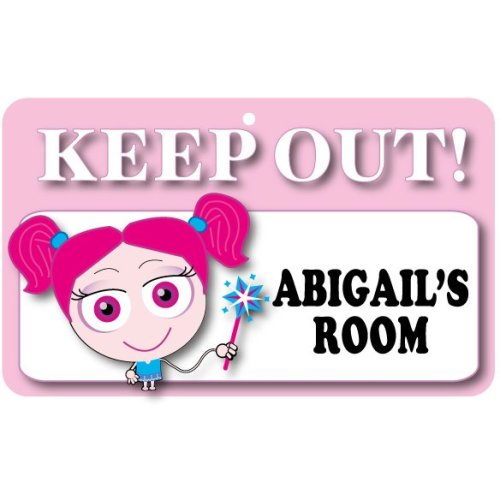 Keep Out Door Sign - Abigail's Room