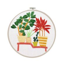 Embroidery Flower Kit Hand Embroidery Gifts Nice Ornaments