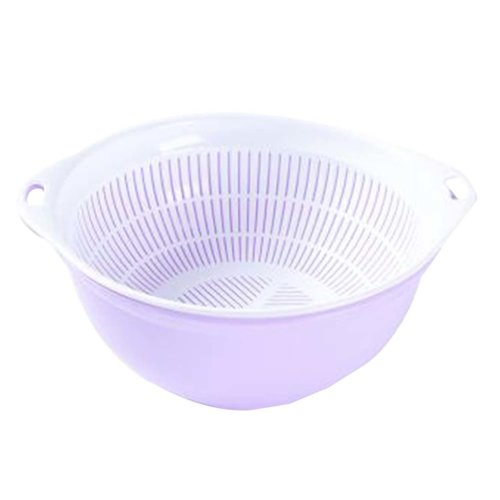 Multifunction Living Room Fruit-Plate Kitchen Vegetable Plate Drain Basket #08