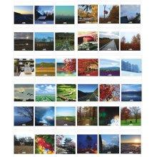 30PC [Hokkaido Scenery] Beautiful Post Cards Set/Creative Greeting Cards Set
