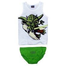 Star Wars Yoda Pants & Vest - Green