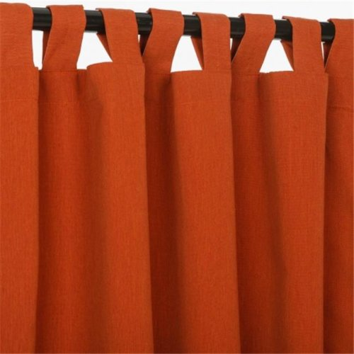 Pawleys Island CUR84BRS-PI Curtain with Tabs