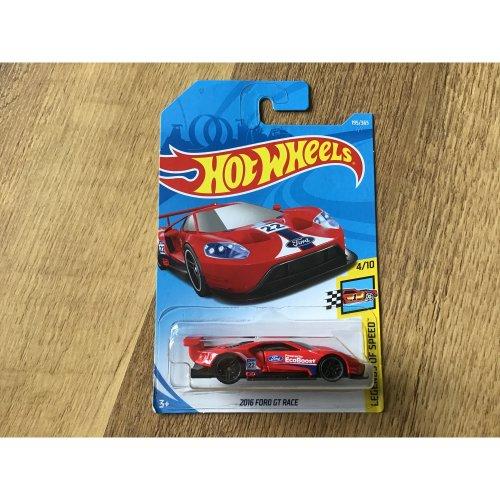 Hot Wheels 2018 Legends of Speed 2016 Ford GT Race #195