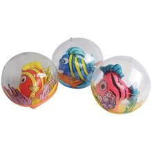 One Inflatable Fish Ball