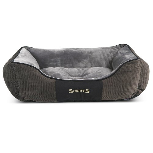 Scruffs Chester Box Bed Graphite 90 x 70 cm