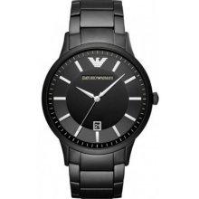 Watch AR11079 Bracelet Watch Black Man Date