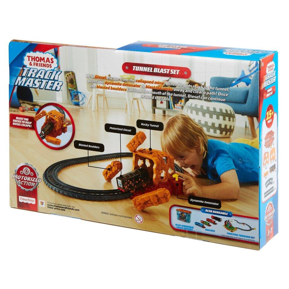 bf317e79b77 ... Thomas & Friends FJK24 Tunnel Blast Set, Thomas the Tank Engine Toy Train  Set,