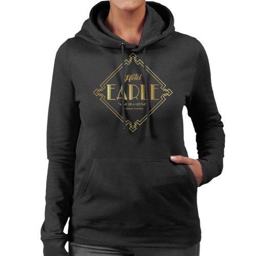 Hotel Earle Barton Fink Women's Hooded Sweatshirt