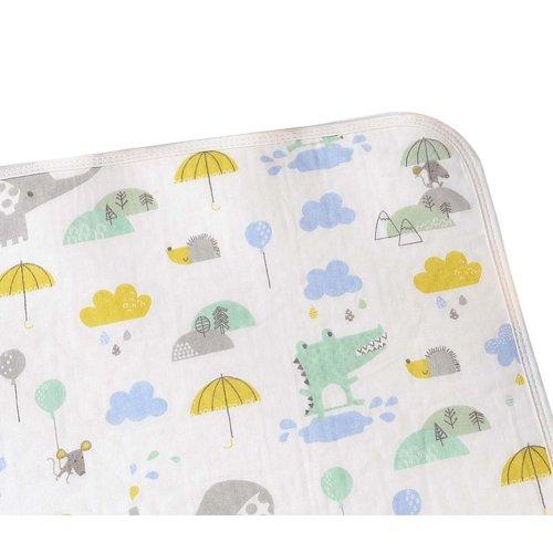 Cotton Washable Baby Diaper Changing Pad Diaper Pad 1 piece, 50x70cm, NO.002