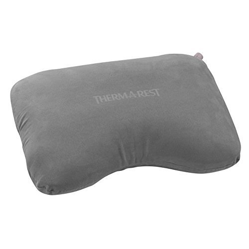 Therm a Rest AirHead Inflatable Foam Travel Pillow Grey