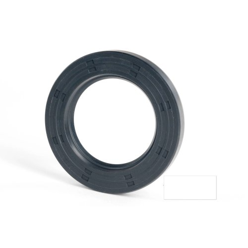 5x15x7mm Oil Seal Nitrile Single Lip With Spring 2 Pack