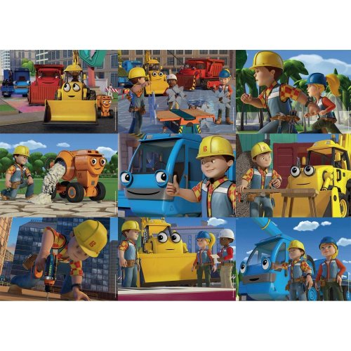 Bob the Builder 9-in-1 Jigsaw Puzzles
