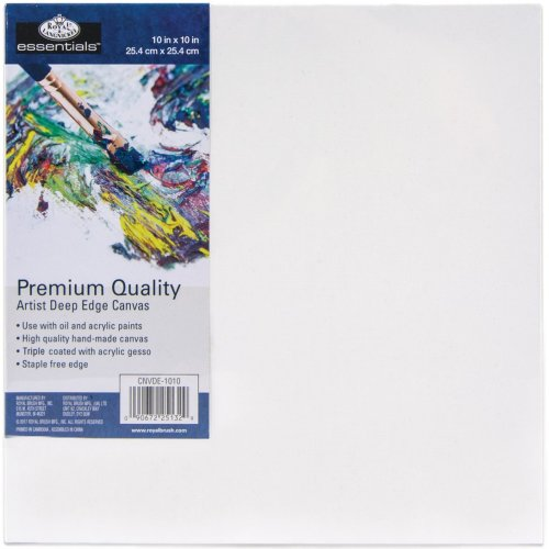 "essentials(TM) Premium Gallery Style Deep Edge Canvas-10""X10"""