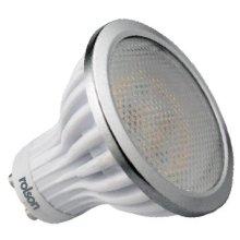 3.5w Gu10 Entry Level 3000k Smd LED Light Bulb - Rolson 61810 3.5w Entry Level Smd Gu10 Led-3000k Energy Saving Echo Light Bulb