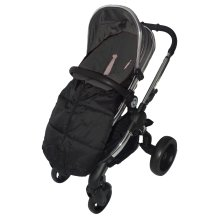 Deluxe Footmuff//Cosy Toes Compatible with Quinny Moodd Pushchair Grey