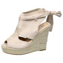 Janelle Womens High Wedge Heels Platform Sandals