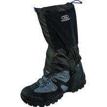 Highlander Grampian Breathable Ankle Gaiters - Black - Pair