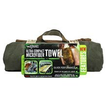 McNett Tactical Ultra-Compact Microfiber Towel, Olive Drab Green, Large