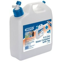 9.5l Draper Water Container With Tap - 95l 23246 -  water draper container tap 95l 23246