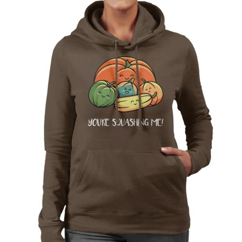 Autumn Squash Women's Hooded Sweatshirt